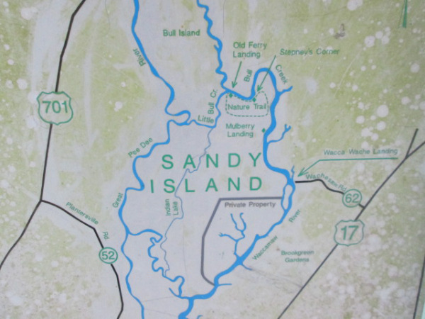 Sandy Island, SC in the Gullah/Geechee Nation